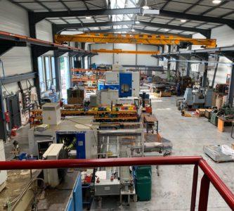 Nouvel atelier de production de TECEM